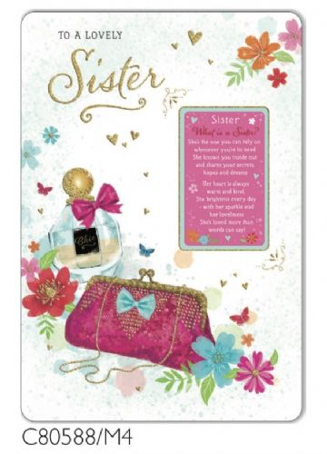 TF Sister Sentiment Card Regal